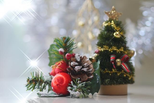 クリスマスカラーの秘密。